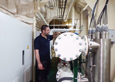 Type Approval testen van ballastwater behandelingssysteem voor Cathelco
