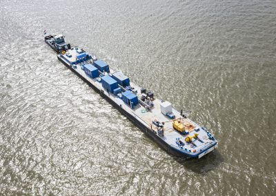 De MEA-Innovator Test Barge