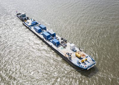 The MEA Innovator Test Barge