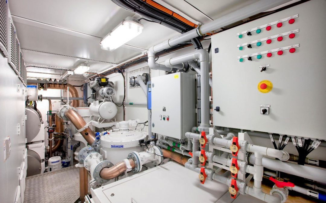 Shipboard Verification BWTS InvaSave 300 voor DAMEN Green Solutions